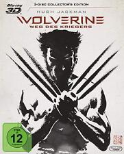 Wolverine - Weg des Kriegers 3D - 3D-Blu-Ray NEU&OVP 3 Disc Collector's Edition