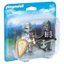 Chevalier noir et chevalier d'argent - Playmobil Knights