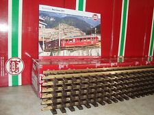 LGB 10610 BRASS 4 FT STRAIGHT TRACK BOX OF 6 PCS NEW + FREE 2011 FLYER INCLUDED!