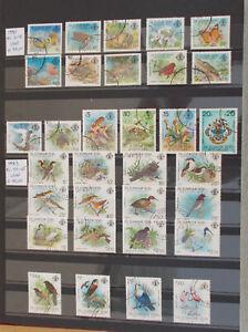 SEYCHELLES 1980-85 13 comp.set 70 stamps+4 souv.set used(€127,10)-4scans#Lot4515