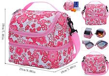 MIER Adult Lunch Box Insulated Bag Soft Cooler Adjustable Strap Work Men Women
