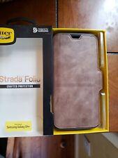 NEW Otterbox Strada Folio Leather Case for Samsung Galaxy S9plus