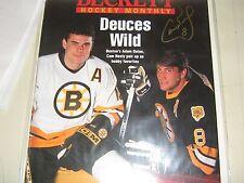Autographed Cam Neely Beckett Hockey 4/1995 Hot Rare