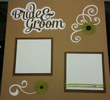 Wedding - Scrapbook Cut Outs Only - Browns
