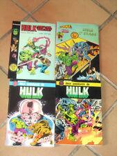 Lot 4 albums HULK artima color Marvel - recueils deux aventures + HS...