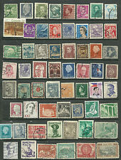Small World stamps collection of 60, Germany, netherlands, Italy, Belgium used