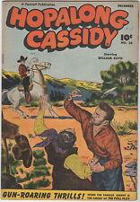 HOPALONG CASSIDY  #26  FAWCETT WESTERN 1948  WILLIAM BOYD