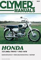 Clymer Repair Service Shop Manual Honda CL125A/160/175/200 CA160/175 Motorcycle