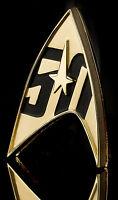 50 Jahre Star Trek offizielles Abzeichen Metall - Magnet