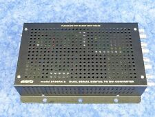 Evertz 2430RX-2 Dual Serial Digital to DVI Converter