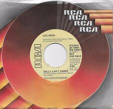 LOU REED  Sally Can't Dance  rare promo 45 from 1974