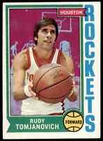 1974-75 Topps Rudy Tomjanovich Rockets #28 *Noles2148*