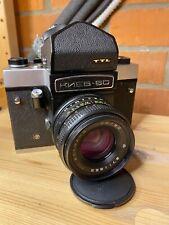 Vintage Soviet Kiev 60 TTL Medium Format Camera MC Volna 3 2.8/80 USSR