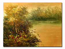 """Modern Oil Painting Handpainted Landscape Wall Decor Art For Gift No Frame 8x10"""""""