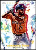 Abraham Toro 2020 Topps Inception 5x7 #7 /49 Astros