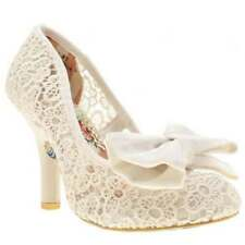 Bridal or Wedding Irregular Choice Slim Heels for Women