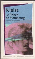 Kleist - Le Prince de Hombourg - Bon état