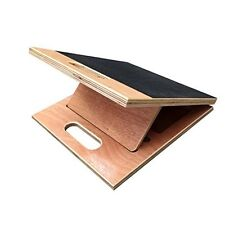 Wooden Slant Board - Optimal Stretch for Feet, Calves, Quads, Hips by Bodykore