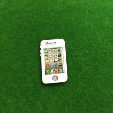 Accessories Miniature Dollhouse Apple I Phone Mobile Phone ( Re-ment Size ) GOLD