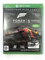 FORZA MOTORSPORT 5 Game Of The Year Edition Xbox ONE Brand NEW Free Shipping