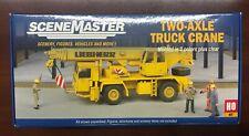 HO Scene Master 949-11015 Two Axle Truck Crane