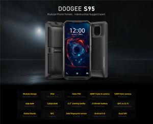 DOOGEE S95 Modular Rugged Mobile Phone 6GB 128GB Helio P90 5150mAh Octa Core