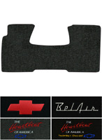 1955-1957 Chevy Nomad Floor Mat - 1pc Front - Loop | Fits: 2DR, Wagon