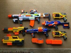Huge Nerf gun bundle