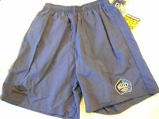 "NOS Umbro Select Gym Soccer Shorts Size Small 28""-30"" Navy Blue 6"" Inseam USA"