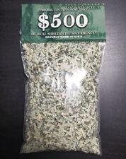 100% Real Shredded Cash Money - LARGEST 2oz+ BAG With $300+ Value - Gag Gift