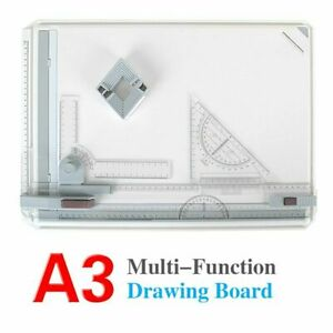 High/Quality A3 Drawing Board Table Desk Board  Art Craft Table Adjustable Angle