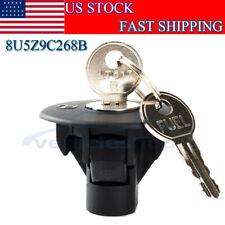 NEW Locking Gas / Fuel Tank Plug Cover Cap w/ 2 Keys For Ford 8U5Z9C268B
