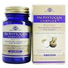Solgar PM PhytoGen ComplexTM Tablets (Pueraria mirifica) 60ct NEW