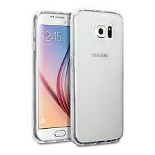 for Samsung Galaxy S6 Edge Clear Silicone Protective GEL Case Soft TPU Cover