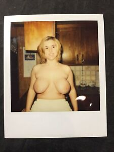 Vtg 60's Polaroid Pinup Girl Snapshot Spicy Girlie Risque Photo lot 7