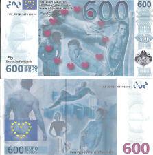 2x 600€ EURO mit Wasserzeichen, Silberstreifen und Hologramm ähnlich echten €uro