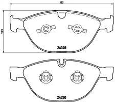 Front Brake Pad Set BREMBO P 06 066