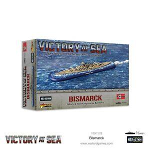VICTORY AT SEA ~  KRIEGSMARINE BATTLESHIP BISMARK ~ NEW ~ UNOPENED