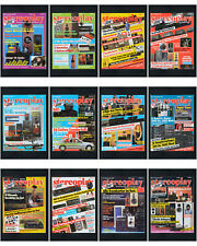 12 x Zeitschrift Stereoplay 1987 HiFi Stereo Audio Magazin / Kompletter Jahrgang