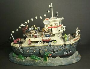 Lemax Spooky Town ~ The Bloody Mary/Phantom Cruise Ship
