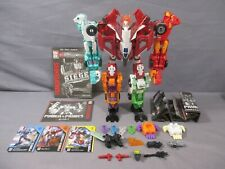 Transformers Power of the Primes ORTHIA Female Combiner Greenlight Complete Set