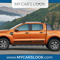 Ford Ranger Wildtrak wild side stripe graphics decal sticker