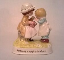 Vintage Holly Hobby Happiness is Meant to be Shared figurine