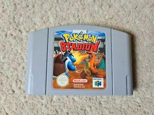 Nintendo 64 Pokemon Stadium - Excellent Quality - PAL - N64