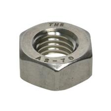 G304 Stainless Steel M4 (4mm) Metric Coarse Hex Standard Full Nut