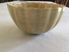 "Roscher & Co BELLINI COLLECTION CREAM Serving Bowl Earthenware 6-1/2"" across"