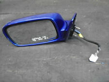 Toyota Corolla 3dr G6 complete wing mirror passengers left 5pin dark blue purple