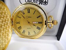 Watch Day/Date New Reduced Clearance 2 Colibri Light Gold Face Goldtone Pocket