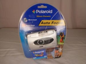 NIP Polaroid 470 AF 35mm Auto Focus Camera & Film No Batteries - See Description