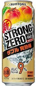 Suntory-196 °C Strong Zero 9% Double Ripe Plum 500ml 1 can Chuhai